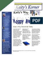 Kaity's Korner Jan 10