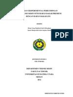 Kajian Eksperimental Perbandingan Perfomansi Mesin Otto Bahan Bakar Premium Dengan Bahan Bakar LPG