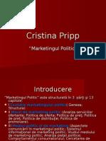 Marketingul Politic Proiect