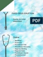Fixed Drug Eruption