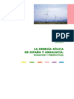 La Energía Eólica en España y Andalucía - Situación