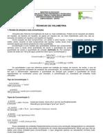 Química Analítica I - Volumetria