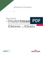 Guide Des Nutriments - Chiens Et Chats