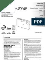 Finepix z5fd e200hp Manual 01