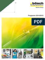 2014-2015 Boesch Hauptkatalog