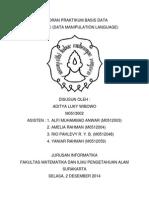 Laporan Praktikum Basis Data SQL Basic (Dml)