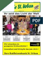 Ausgabe 58 Dezember 2014