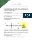 Focal Length of a Lens