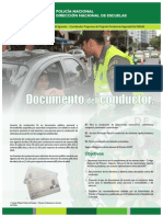 Policianal Dinae Documentos Conductor