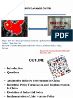 China Auto Mobile Industry by Nicolaus Shombe