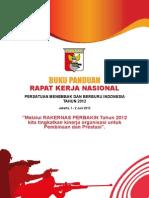 Buku Peraturan Tata Tertib Dan Jadwal RAKERNAS (1)