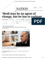 Arun Shourie 'Modi May Be an Agent of Change, But He Has to Reshape an Entire Ocean' _ the Indian Express