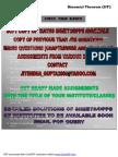 Bansal Sheet Solution