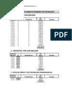 Relacion de Documentos Powdwr Contabilizar