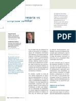 PAD PIURA, Familia Empresaria vs Empresa Familiar