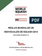 Reglas Mundiales Squash