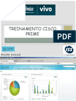Treinamento Cisco Prime