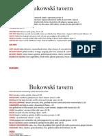Bukowski Tavern - Cambridge