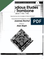 Bordogni-Rochut Melodious Etudes 1-10