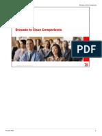 Brocade Cisco Comparison