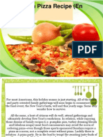 A Hawaiian Pizza Recipe (en Espanol)