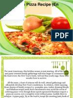 A Hawaiian Pizza Recipe (en Espanol)