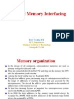 8086 and Memory Interfacing