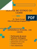 SILICOSE NO ESTADO DO CEARÁ - EXPERIÊNCIA PESSOAL
