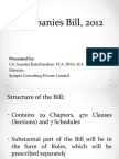 CompCompanies Bill, 2012 Presentation From Sympro Consulting Pvt. Ltd.anies Bill, 2012 Presentation From Sympro Consulting Pvt. Ltd.