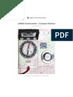 Accelerometer Compass Manual
