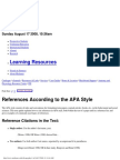 APA Reference Style