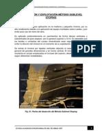 Perforación y Explotación Método Sublevel