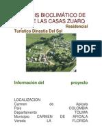 Análisis Bioclimático de Una de Las Casas Zuarq