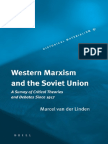 Western Marxism and the Soviet Union by Marcel Van Der Linden