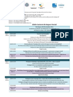 Program Cluj 26 Oct 2014