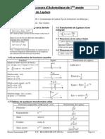 Résumé Du Cours D_Automatique