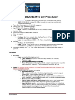 BG SBLC MTN Buy Procedures