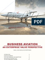 Report Supporting Use of Private Jets