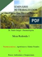 SEMINÁRIO SAÚDE DO TRABALHADOR