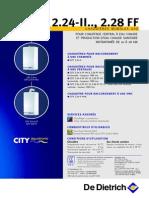 chaudiere CITY 2.24-II.., 2.28 FF
