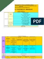 Program of IBAC 2014