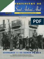 Sant Antoni Abat, Revista 2015