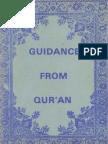 Guidance From Qur'an