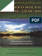 Tajweed Rules of the Quran Part 01