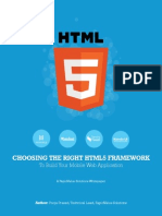 Choosing the Right HTML5 Framework to Build Your Mobile Web Application a White Paper by RapidValue Solutions1