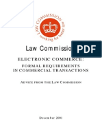 2001, Dec. - E Commerce - Formal Requirements in Commercial Transactions