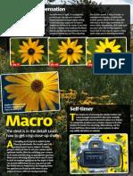 D-SLR Settings (Canon) - 4 - Macro