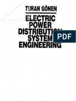 Electric Power Distribution System Engineering (746 Pages)