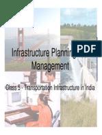 Class 5 - Transportation Infrastructure