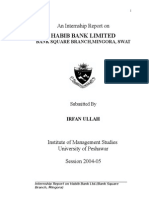 An Internship Report on Habib Bank